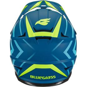 bluegrass Intox Casco, avio/blue shaded/fluo yellow